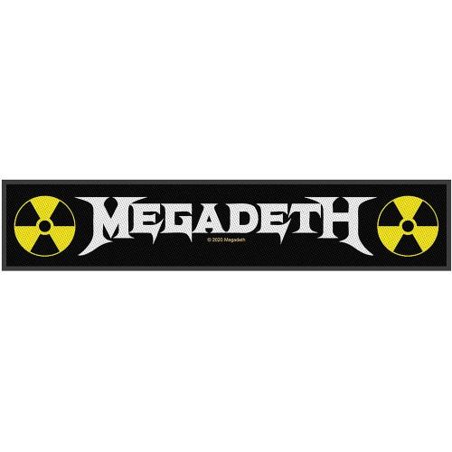 Patch Super Strip Megadeth Logo