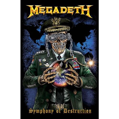 Poster Textil Megadeth Symphony of Destruction
