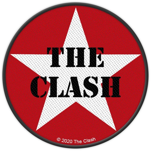 Patch The Clash Military Logo