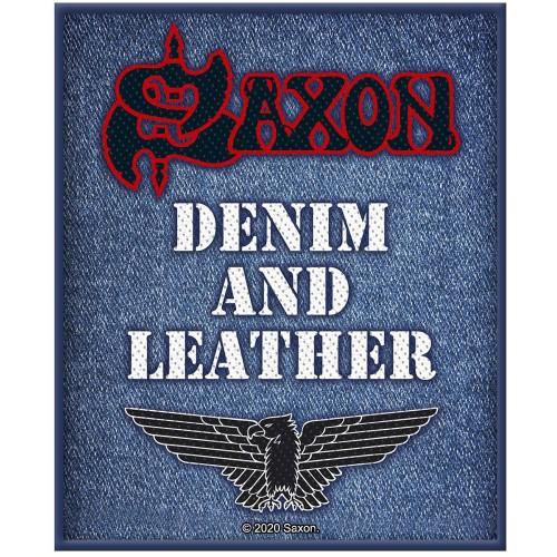 Patch Saxon Denim & Leather