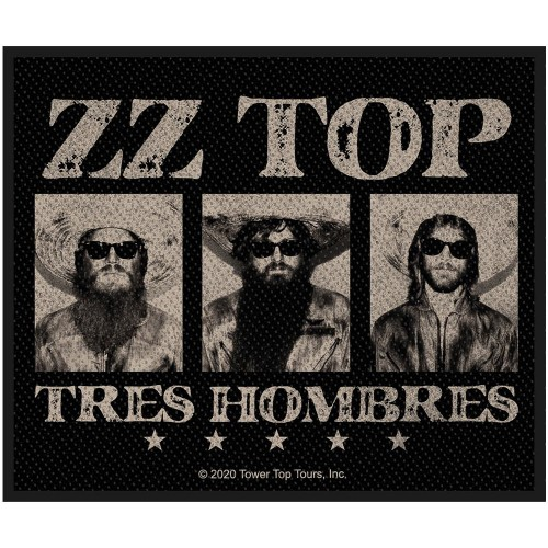 Patch ZZ Top Tres Hombres