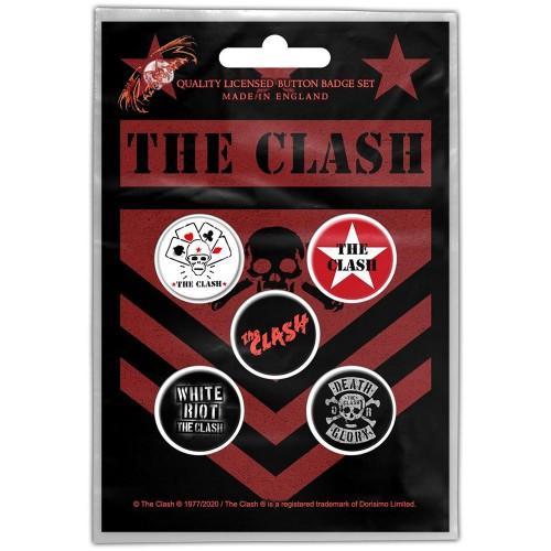Set Insigne The Clash London Calling
