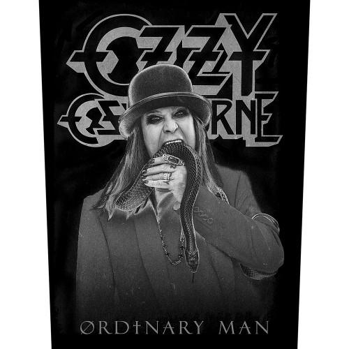 Back Patch Ozzy Osbourne Ordinary Man