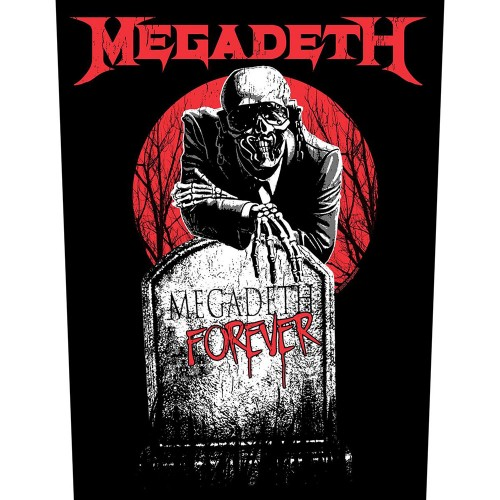 Back Patch Megadeth Tombstone