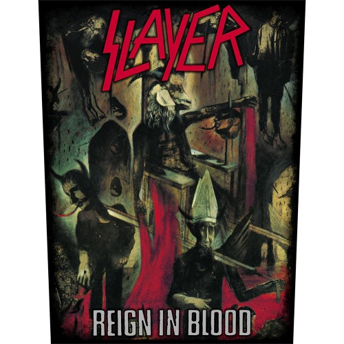 Back Patch Slayer Reign In Blood