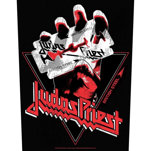 Back Patch Judas Priest British Steel Vintage