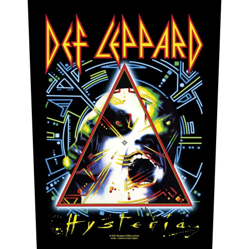 Back Patch Def Leppard Hysteria