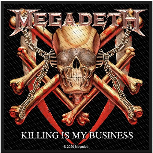Patch Megadeth Killing Is My Business