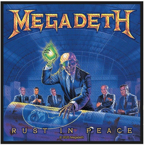 Patch Megadeth Rust In Peace