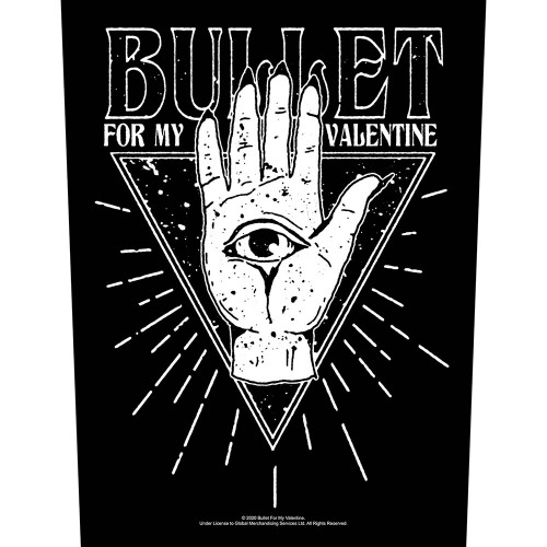 Back Patch Bullet For My Valentine All Seeing Eye