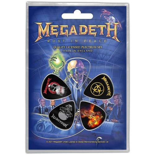 Set Pene Chitară Megadeth Rust In Peace