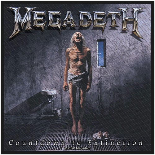 Patch Megadeth Countdown To Extinction