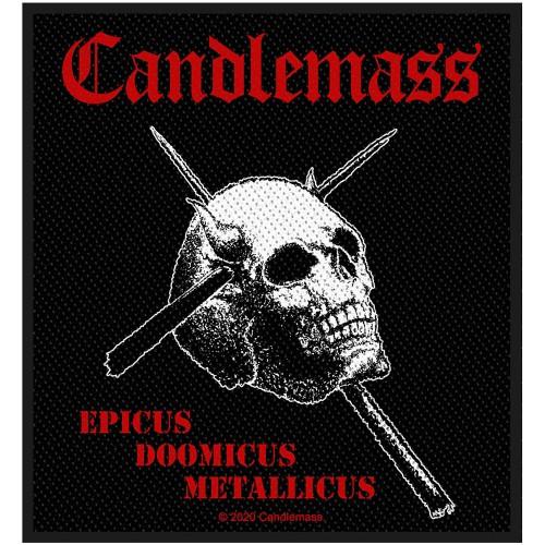 Patch Candlemass Epicus Doomicus Metallicus