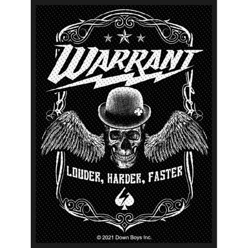 Patch Warrant Louder Harder Faster