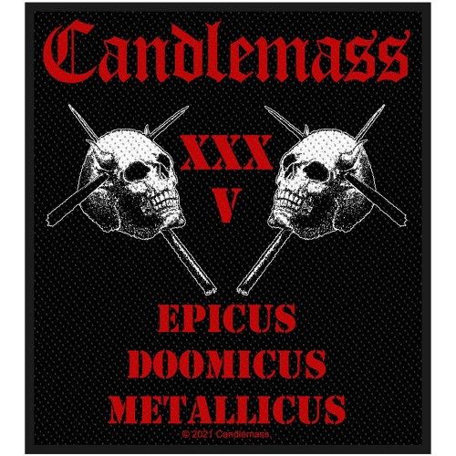 Patch Candlemass Epicus 35th Anniversary