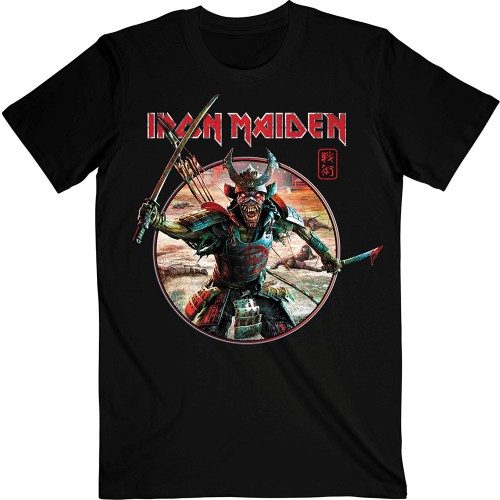 Tricou Iron Maiden Senjutsu Eddie Warrior Circle