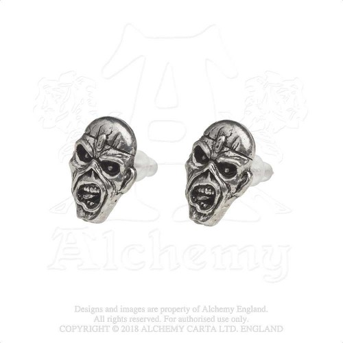 Cercei tip Cui Iron Maiden Piece of Mind Eddie