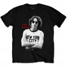 Tricou John Lennon New York City B&W