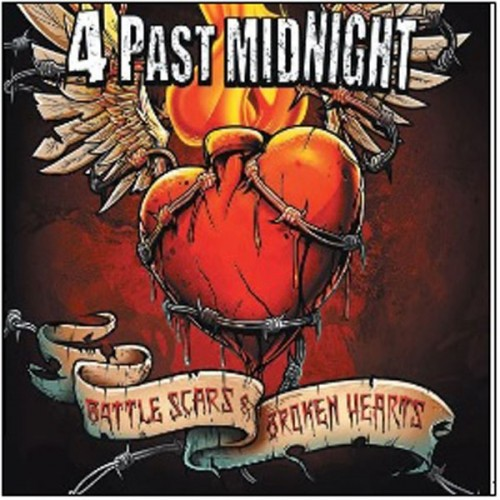 CD 4 Past Midnight Battle Scars And Broken Hearts