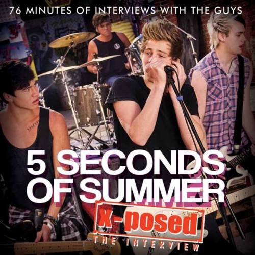 CD 5 Seconds Of Summer X-Posed