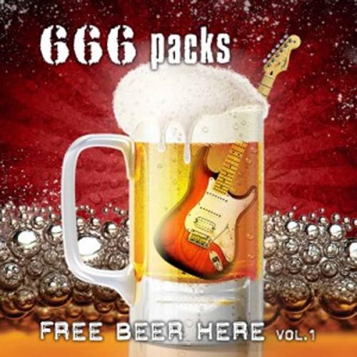 CD 666Packs Free Beer Here Vol.1