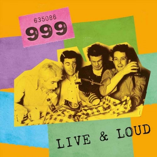 CD 999 Live And Loud